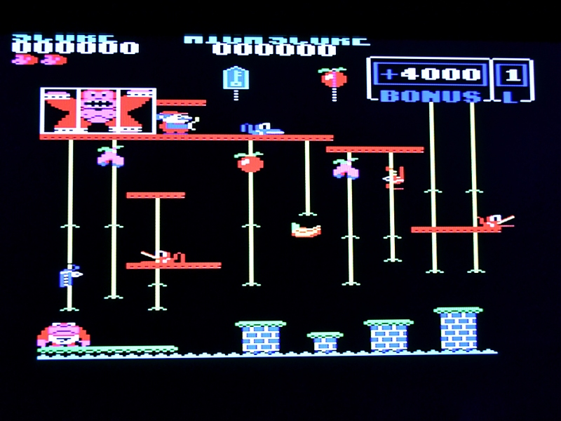 BBC Micro Donkey Kong running on FPGA